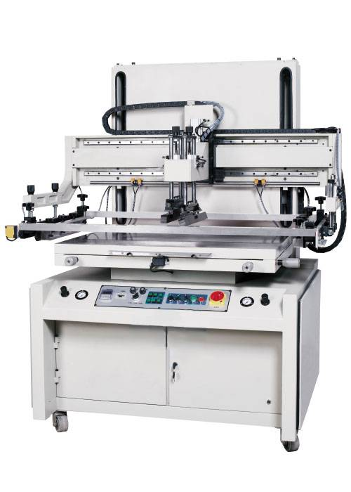 Plane Vertical Screen Printing Machine for Film