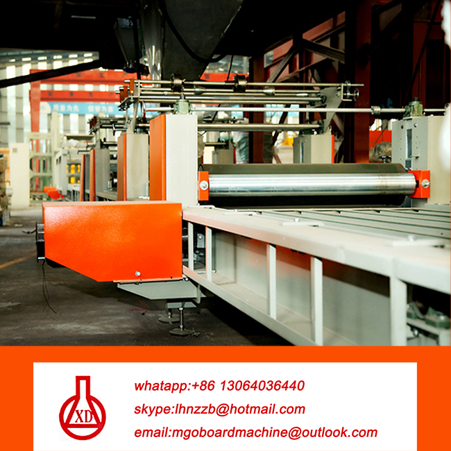 cement sandwich wall panel forming machine line