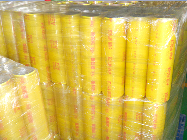 PVC Cling Film 9mic for supermarket