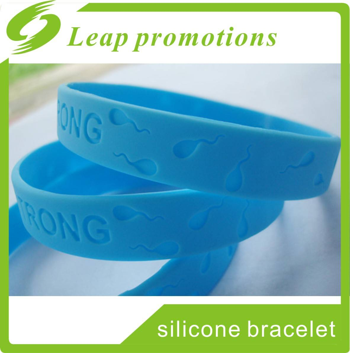 Famous brand promotional Silicone Bracelets with Adult Size