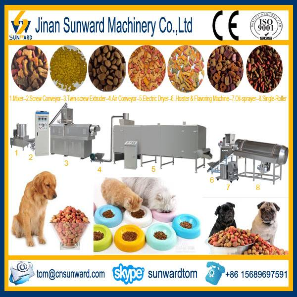 Pet Food Pellet Extrusion Machine
