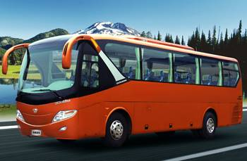 Coach, Bus, Dual Fuel, Hengtong Bus, Transportation Bus