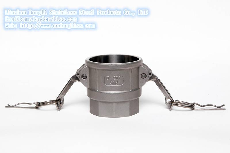 China factory hot sale Type D Stainless Steel fluid coupling, Camlock Couplers