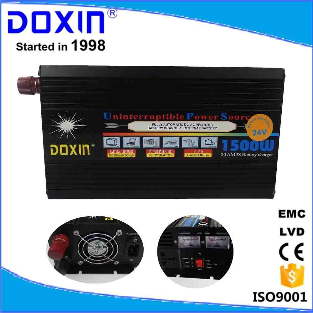 doxin 1500w solar power inverter ups home use dc12 v ac 220v