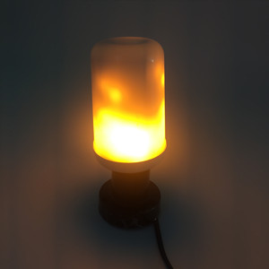 CE approval LED flame bulb different flame colors lamps