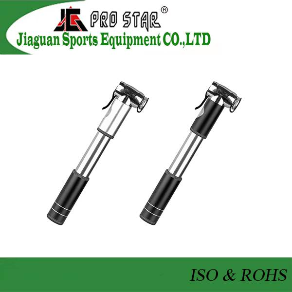Aluminum 6063 Mini Bicycle Pump in 120PSI with Gauge