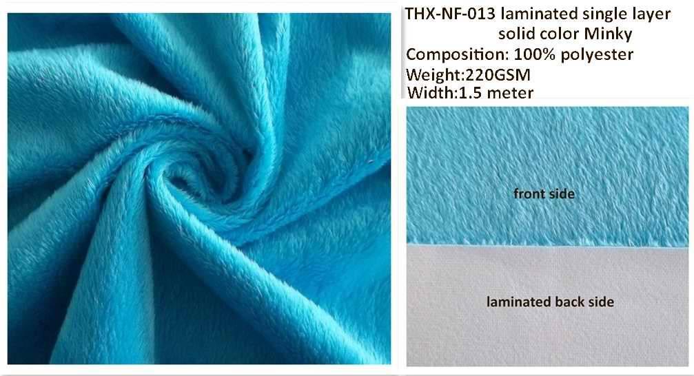 THX Minky fabric