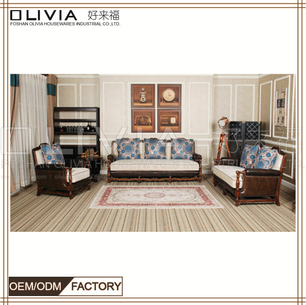 Sinofur Factory Bottom Price Leather Sofa Furniture Chesterfield Sofa