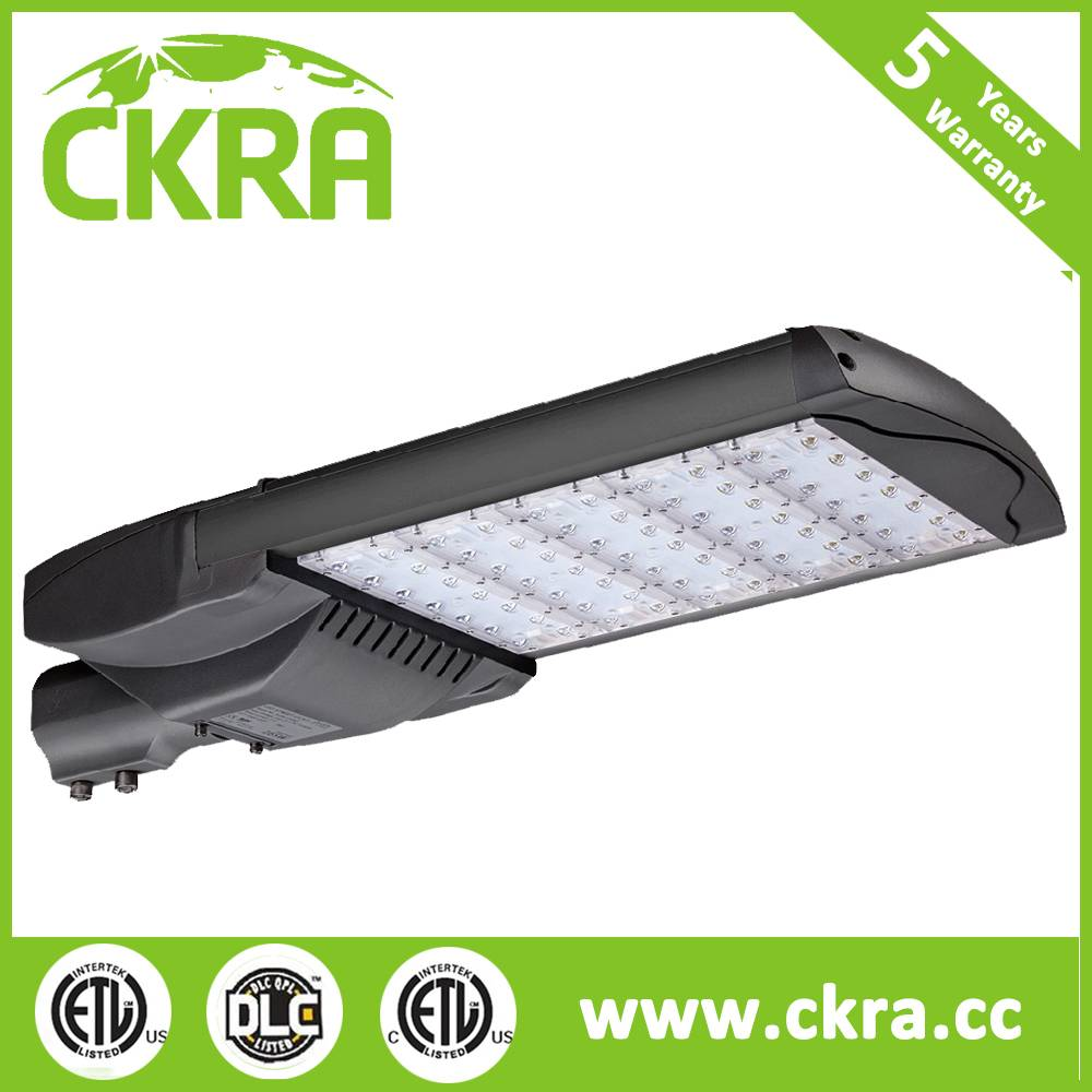 High quality ETL DLC listed LED street light with 7 years warrranty