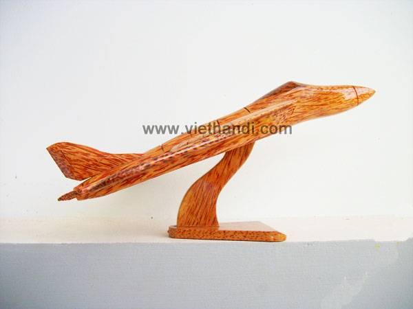 Coconut wood airplane VHV44