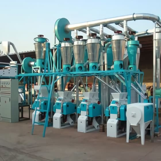 20TPD Wheat Flour Mill Plant