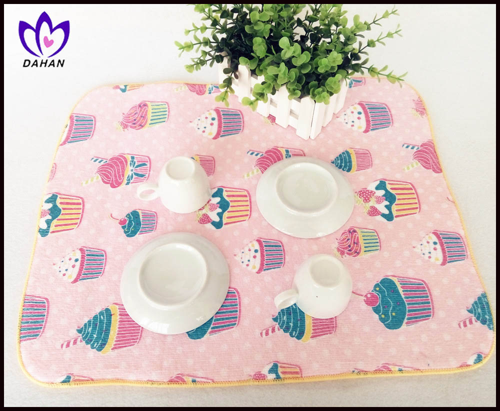 printed polyester placemat table mat