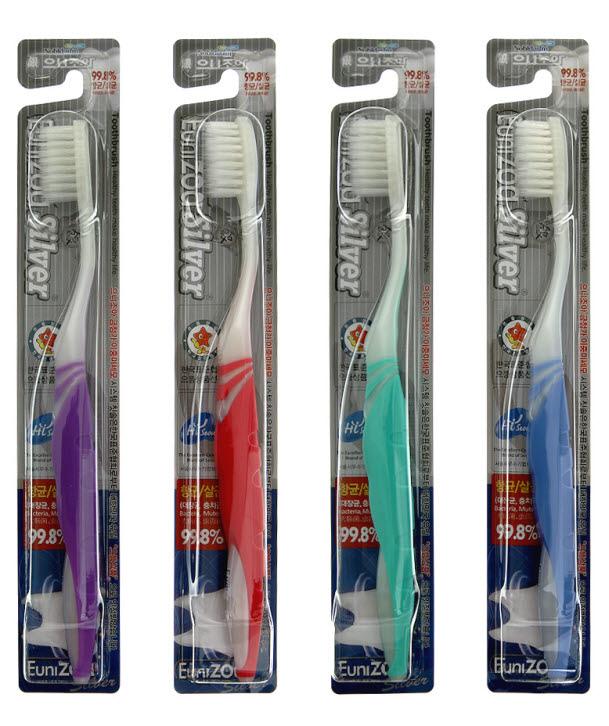 Eunizoa Silver Toothbrush
