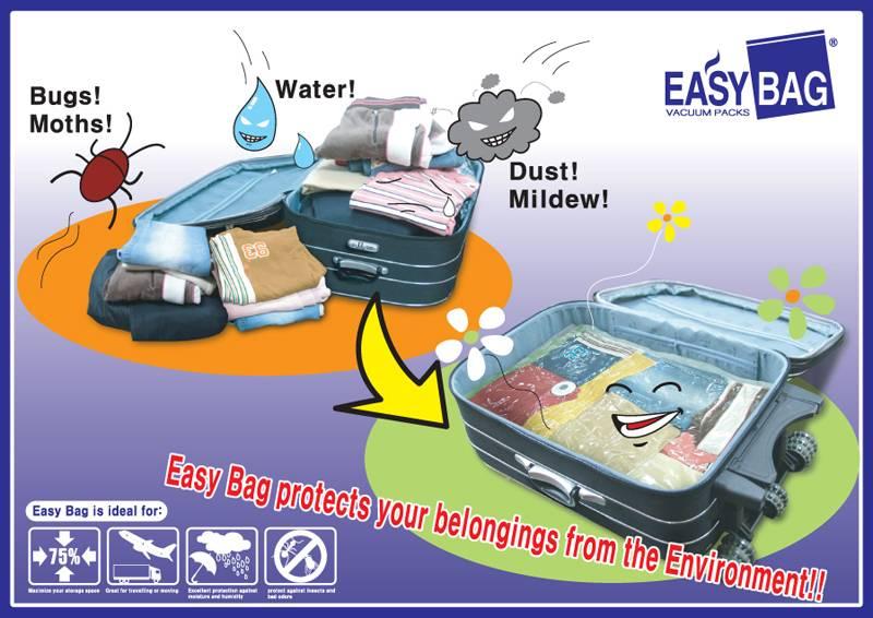 Easy Bag vacuum storage bag