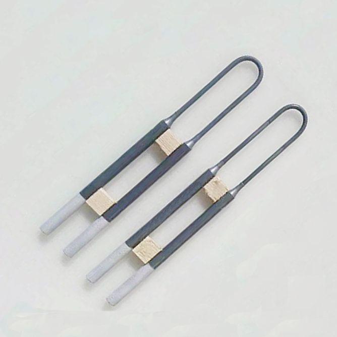 High purity 1800 Molybdenum Disilicide MoSi2 heating element, Molybdenum Disilicide Heater U Type
