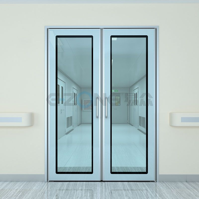 Floor spring door used in hospital