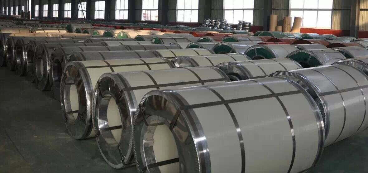 Galvanized and prepainted Steel Coil Roofing sheet material