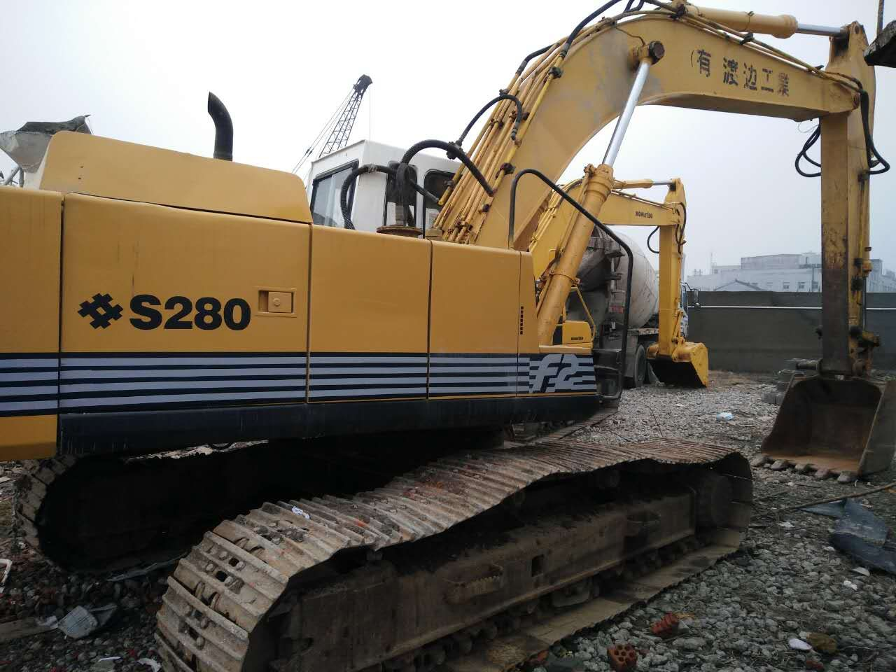 sumitomo used crawler excavator S280 good condition for sale