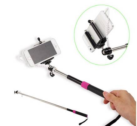 handheld camera monopod, cell-phone monopod, flexible monopod