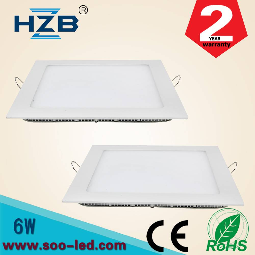 Round 6W LED Surface Panel lighting Wall Ceiling Down Lights Recessed Lamp