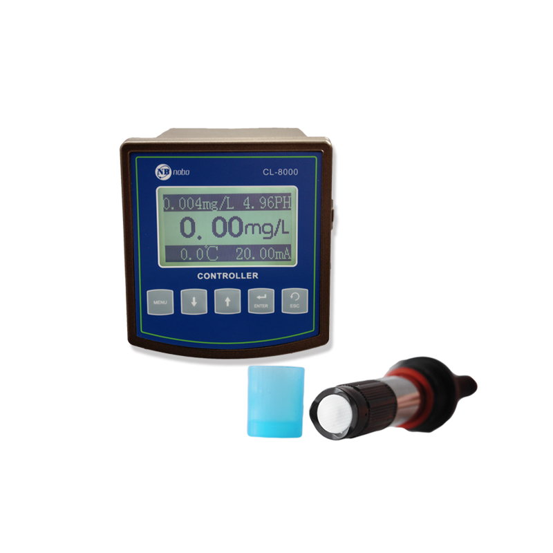 CL-8000 online residual chlorine meter for Measuring hypochlorous acid and chlorine dioxide in water