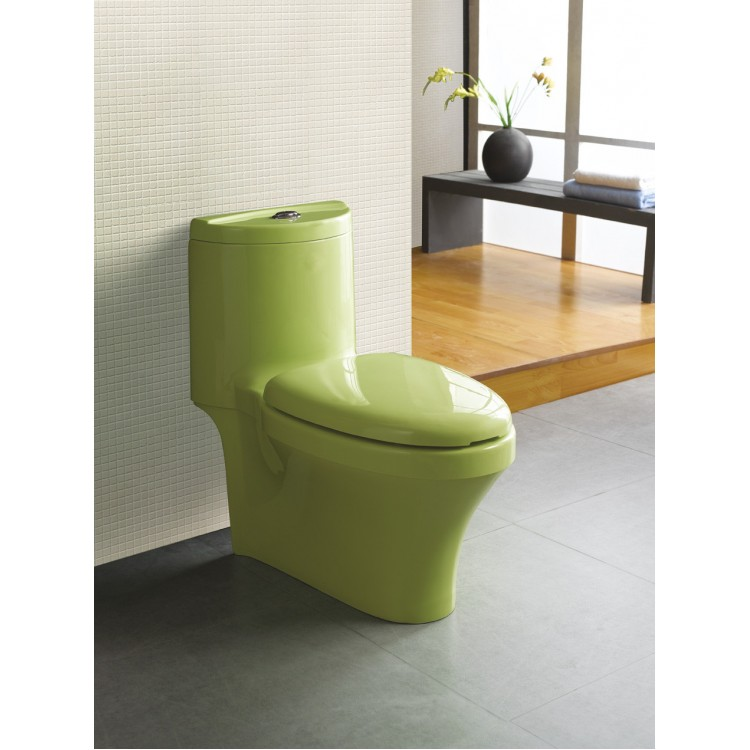 Colorful toilet 0254-M07