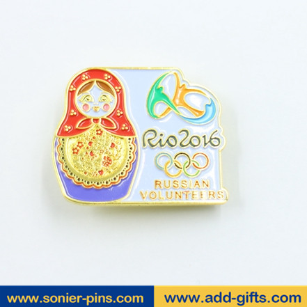 sonier-pins wholesale soft enamel lapel pin