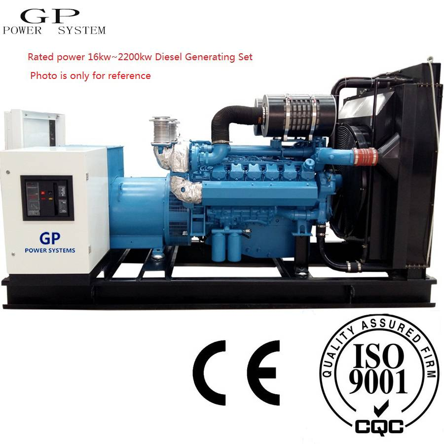 ISO9001 16~2200KW Diesel Generating Set