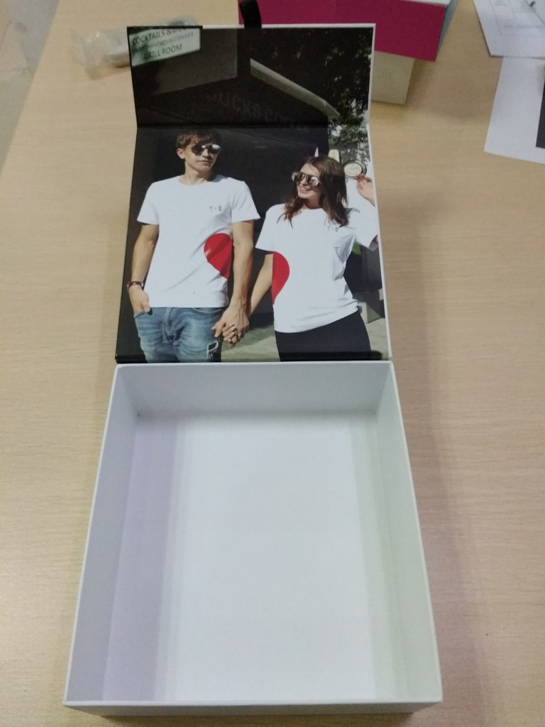 lover couple Festival double sunglasses paper boxes