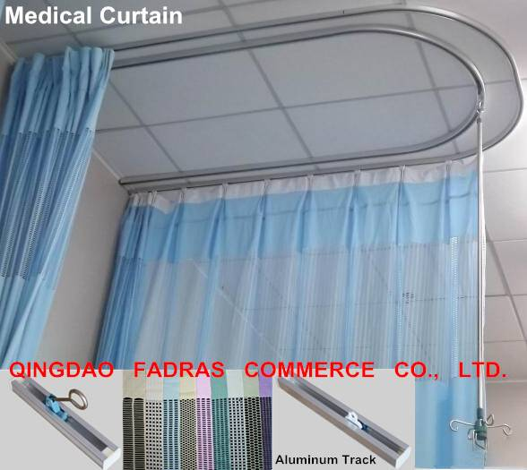 Hospital Medical Curtain Track Infusion Poles
