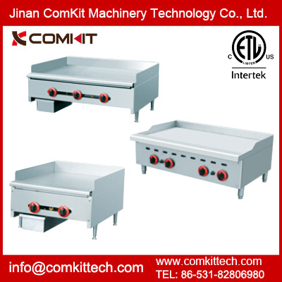 ETL Listed Commercial Gas Griddle / Gas Charbroiler / Gas Radiant Charbroiler / Industrial Gas Grill