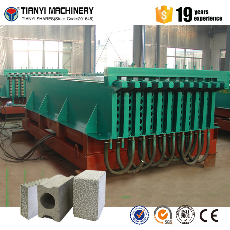 Lightweight eps cement external wall panel making machine