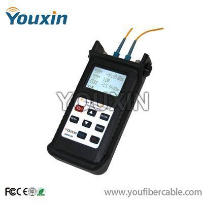 Handheld fiber optic visual fault locator