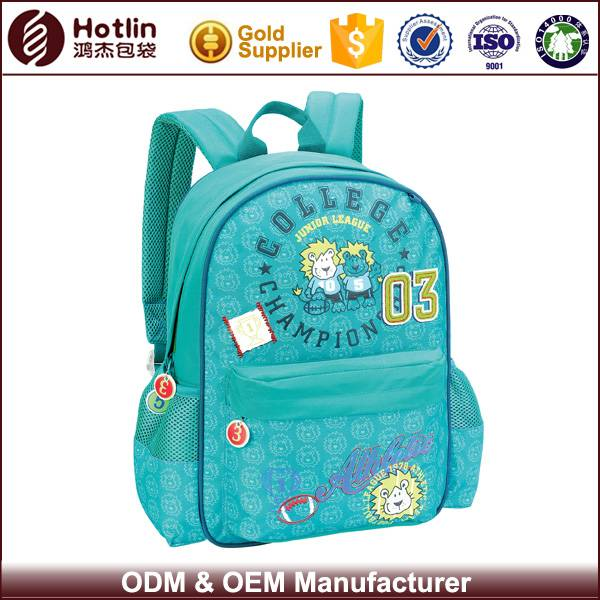 ECO Friendly Children Polyester Fancy School Bags