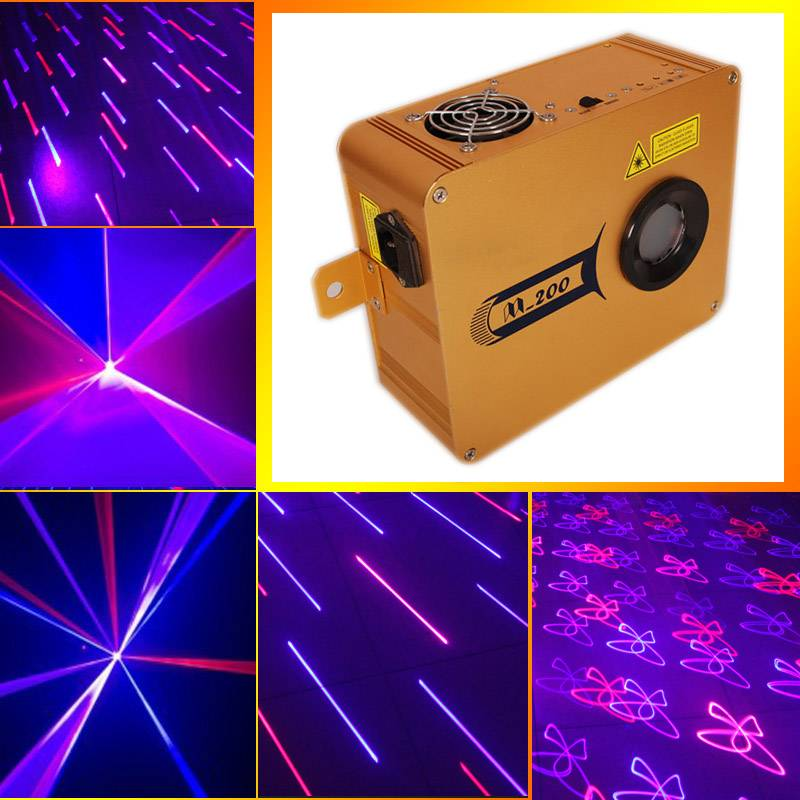 Free shipping stage lighting projector stage laser light with high quality and multiple effects
