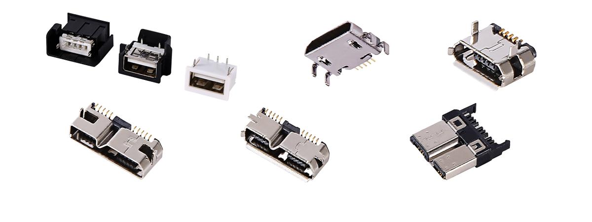 micro USB connectors