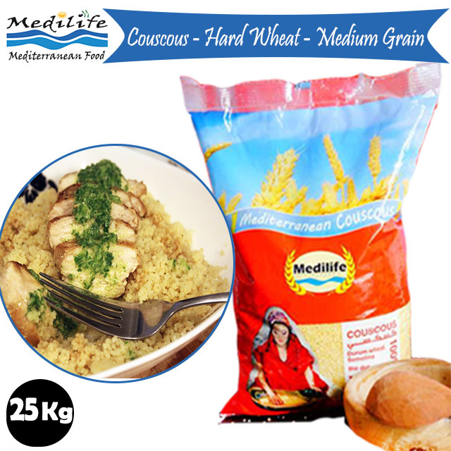Couscous Medium Grain 25kg