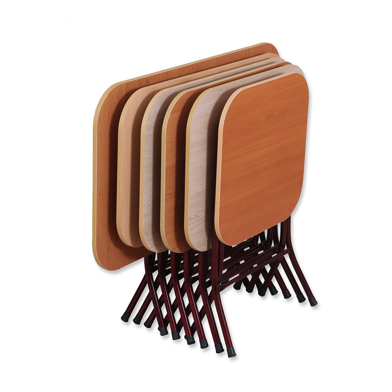 Metal Leg Folding Table