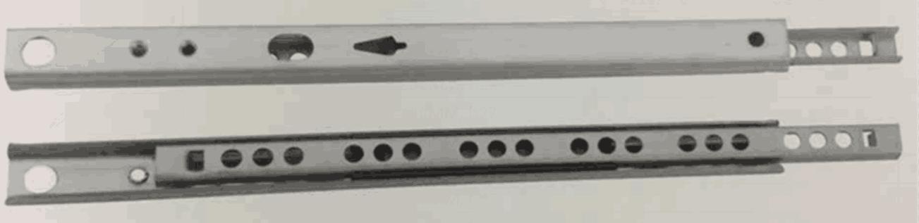 17mini 32 times holes ball bearing slide