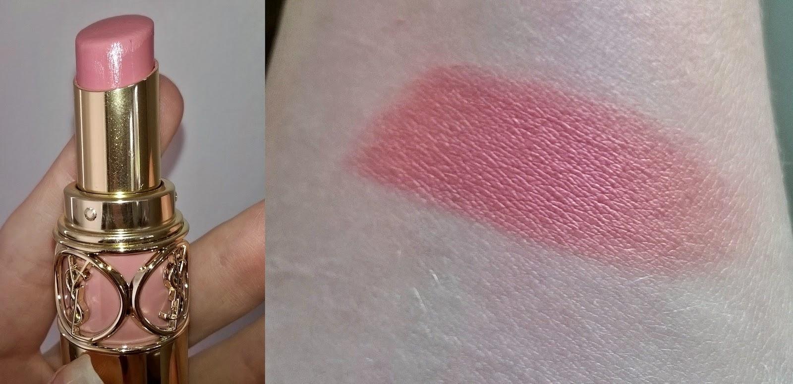 YSL Lipstick ROUGE VOLUPTE SHINE 9 NUDE SHEER