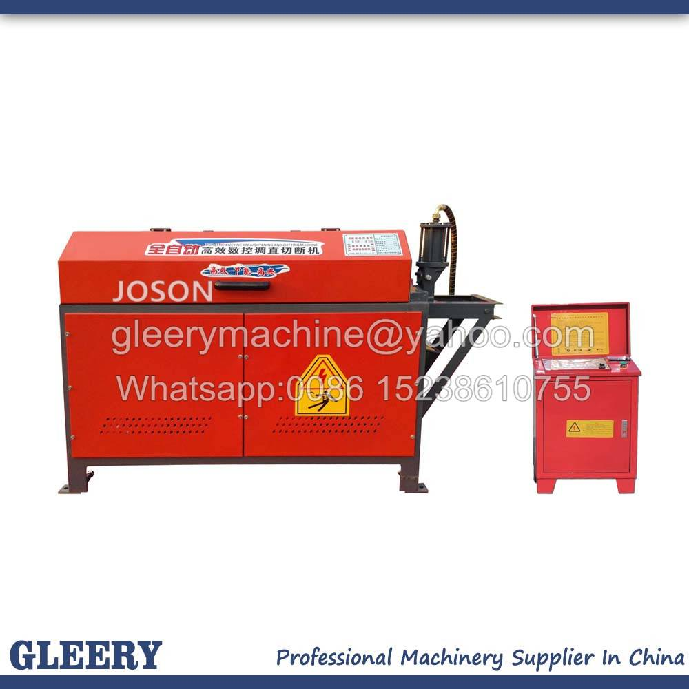 GT4-12C CNC Auto Hydraulic Steel bar Straightening and Cutting Machine