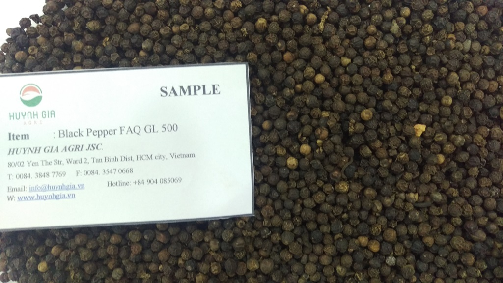 black pepper 550gl/l