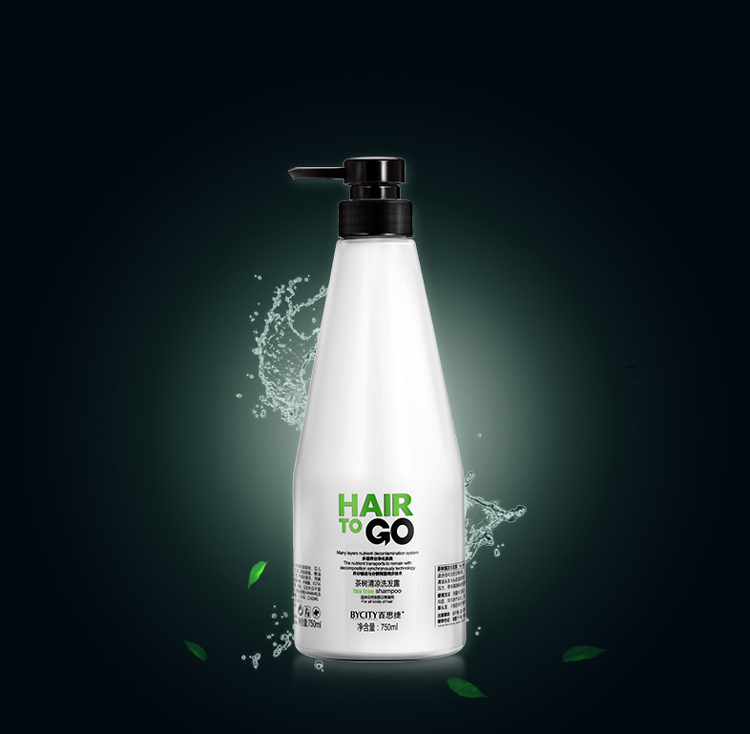 Professional private label natural hair care tear tree hair shampoo