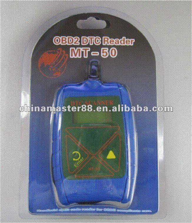 MT-50 OBD II code reader