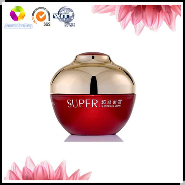 Color Coating Glass Cosmetic Jar Lacquered Glass Jar