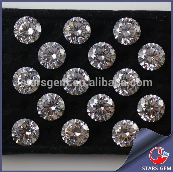 Low Price with Good Quality Star Cut 10Hearts&10Flowers Cubic Zirconia
