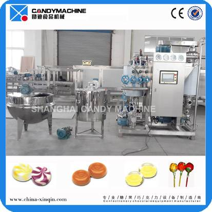 High effciency hard candy machine maker