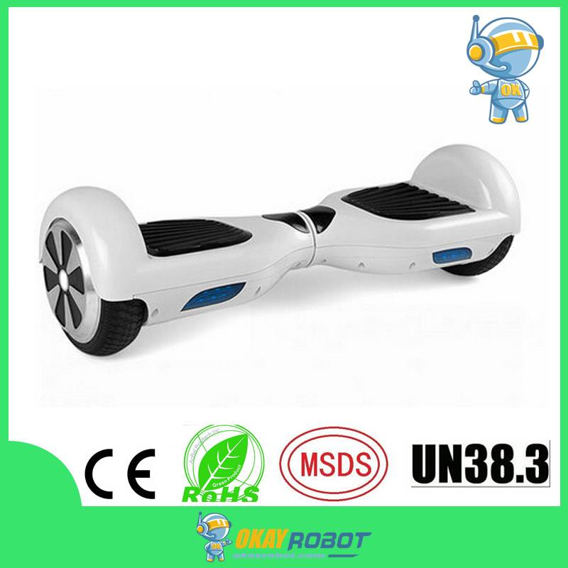 6.5 inch two wheel self balance scooter hoverboard with bluetooth
