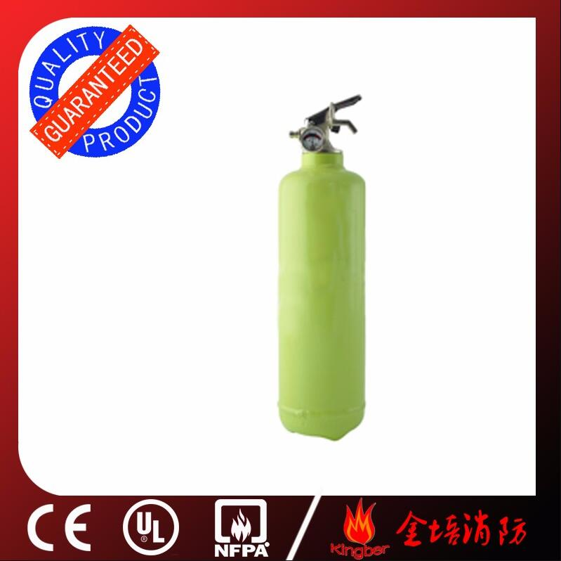 1KG Portable Anis Color Cold-Roll Steel ABC40 Dry Powder Fire Extinguisher Vehicle Using with ISO