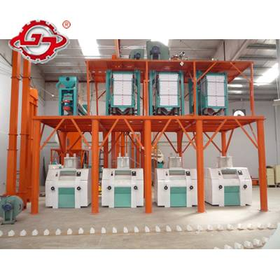 60t maize milling machine,maize flour milling equipment